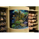aquários redondo na Água Branca