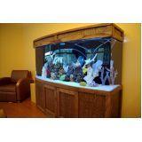 quanto custa aquário redondo em Jaçanã